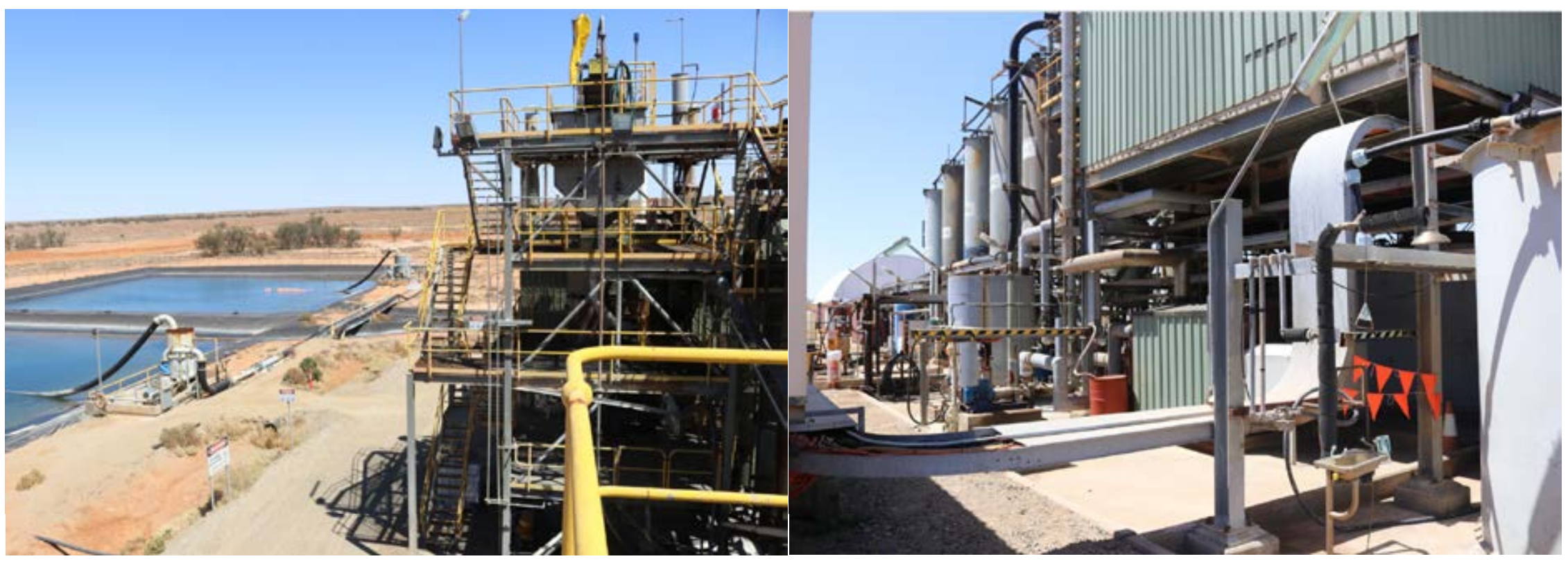Figures: Existing Gold Recovery Plant