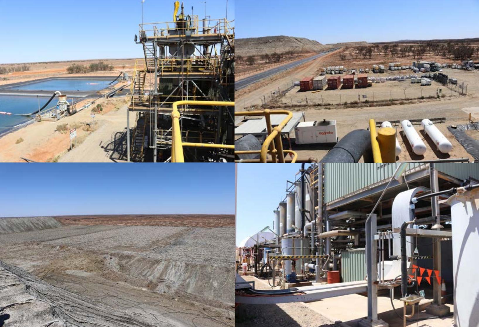 White Dam infrastructure